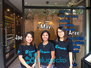 Blugecko Chiang Mai Tour office 2