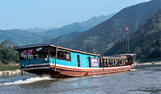 Bus and boat ticket to Luang Prabang