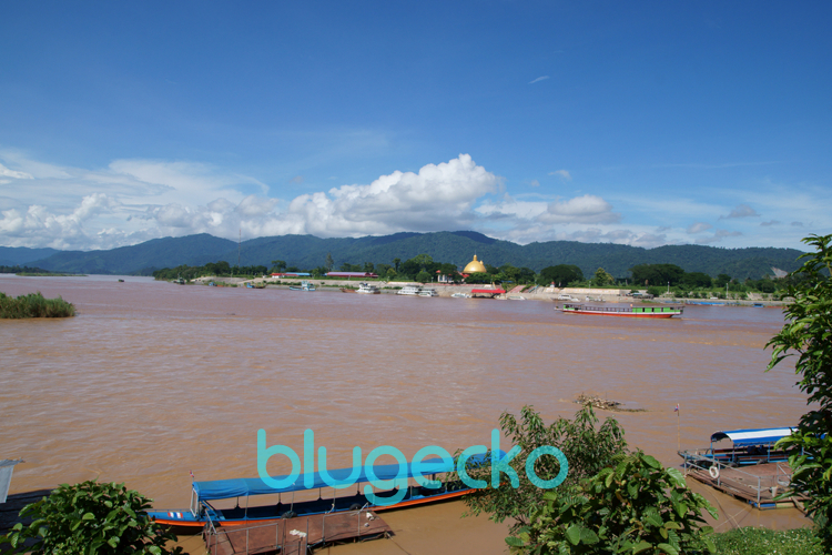 View to Burma from Golden Triangle