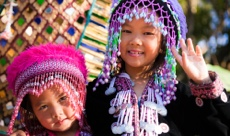 Hmong girls on 2 day tour itinerary