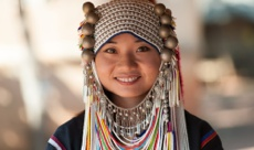 Akha girl of 5 day Chiang Mai tour package